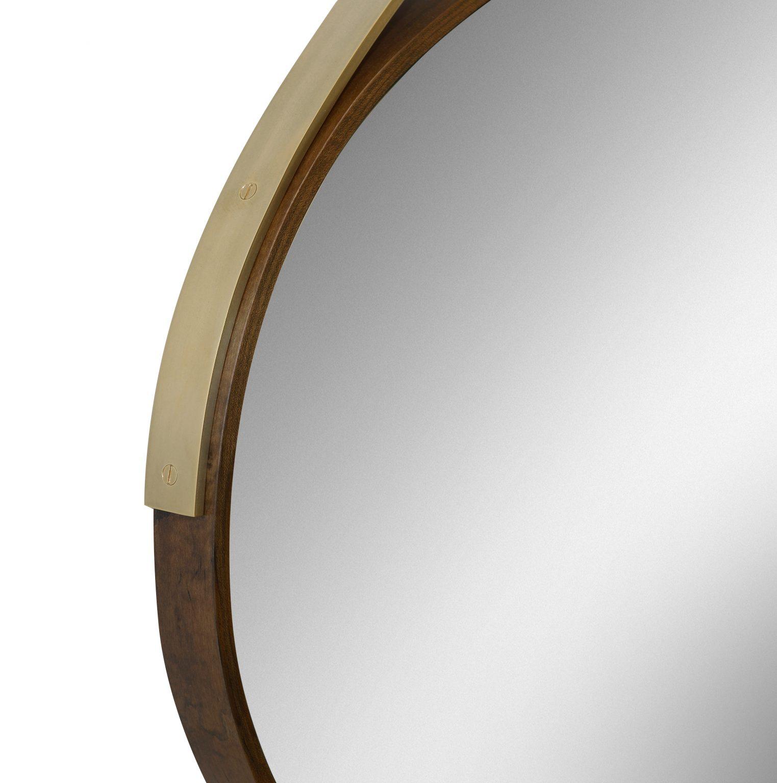 Gotham Oval Mirror