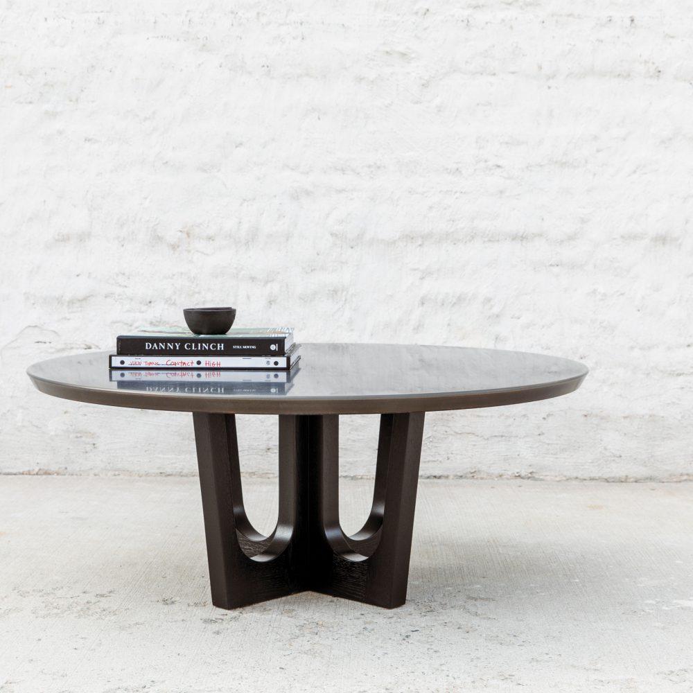 Grand Pedestal Coffee Table
