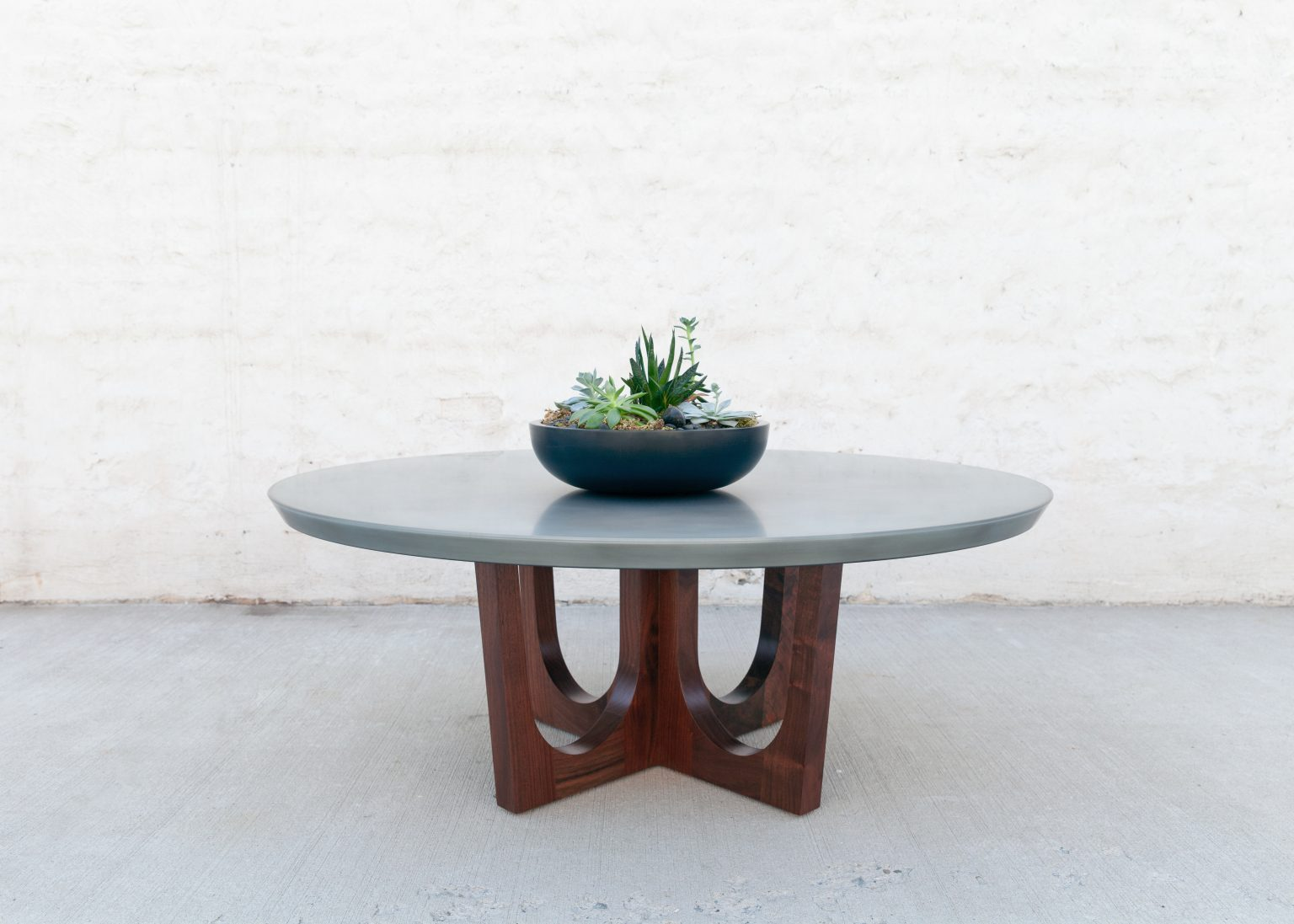 Grand Pedestal Coffee Table