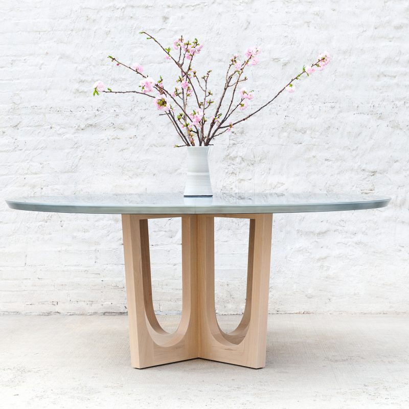 Grand Pedestal Dining Table