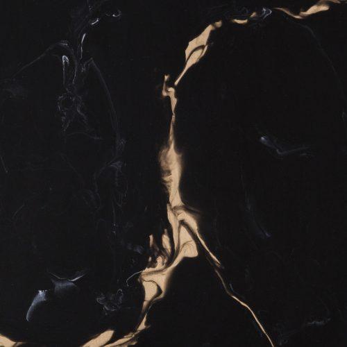 Black Marble: Bronze + Resin