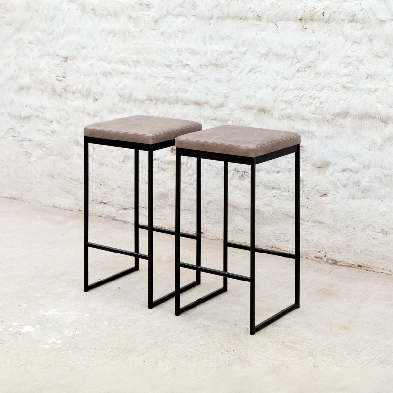Hendrick Backless Stool