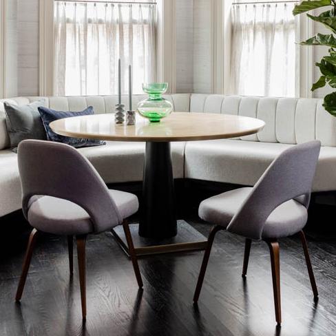 Custom Bronze + Resin Dining Table