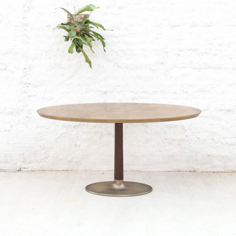 Custom Bronze + Resin Bruklyn Table