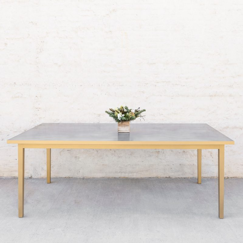 Custom Vega Parson Dining Table