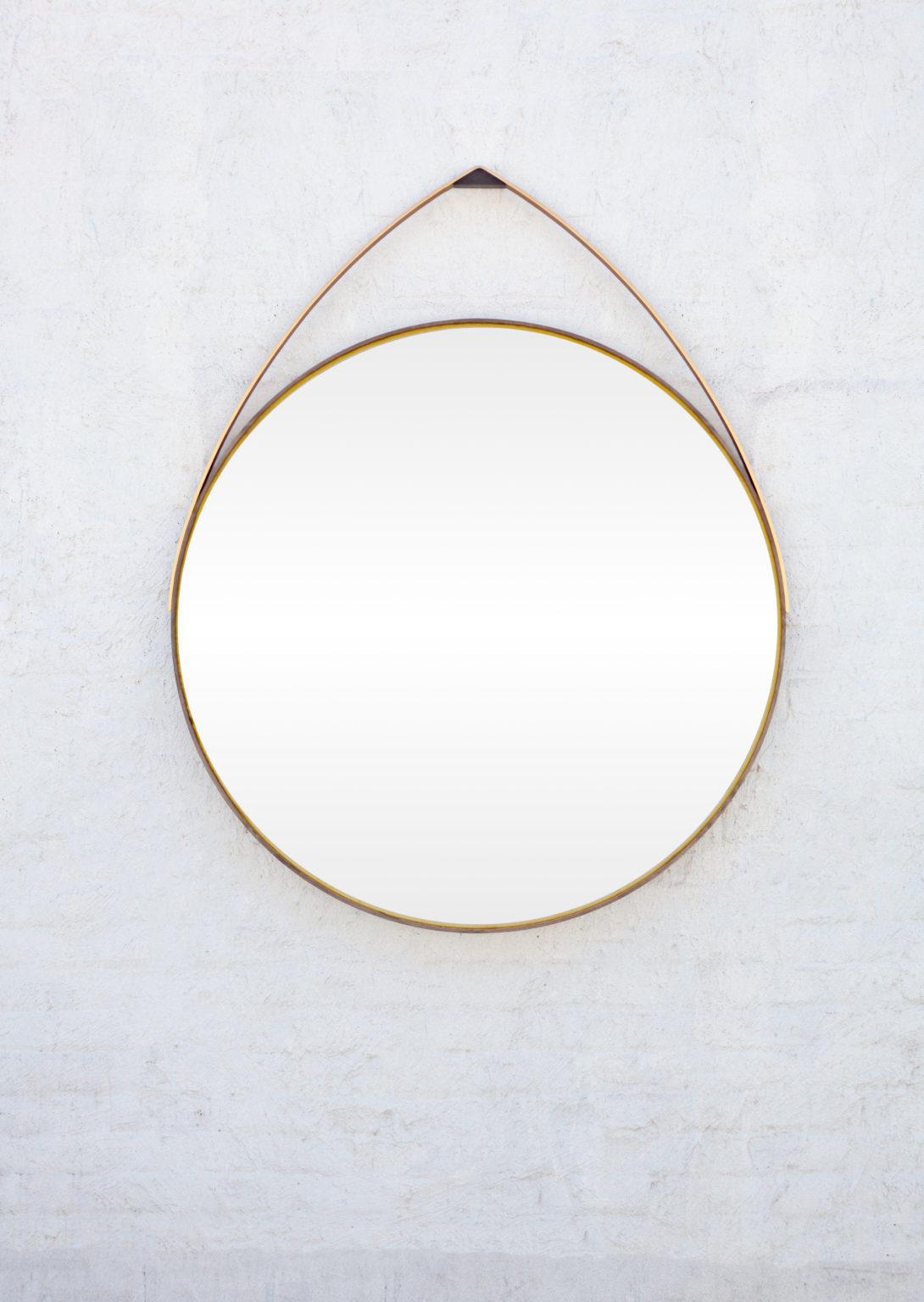 Gotham Hanging Round Mirror